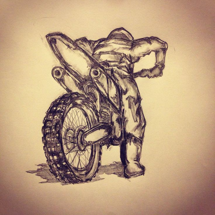 motorcross tattoo sketch by tattoo art sketches all pieces and pics are done by me. Black Bedroom Furniture Sets. Home Design Ideas