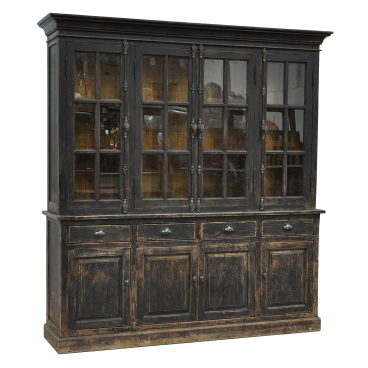 Kosas Home Winfrey Hutch Cabinet | Overstock.com Shopping - The Best Deals on Media/Bookshelves