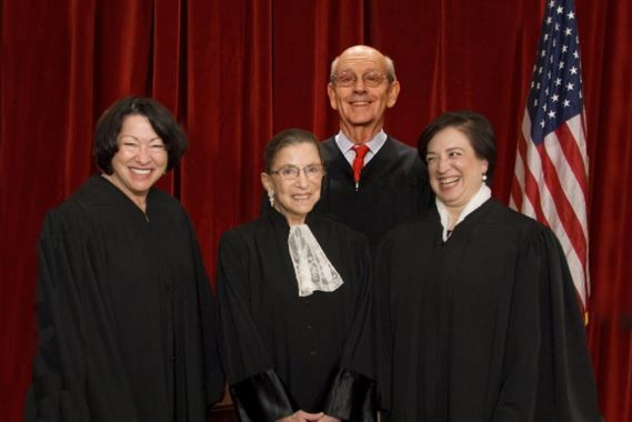 The four feminist SCOTUS justices pounded Texas Solicitor General over Texas's laws on abortion clinics -- and it was glorious.
