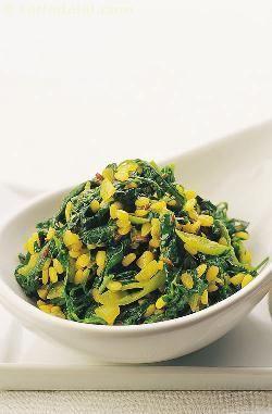 Methi Moong Dal Subzi ( Cooking Under 10 Minutes) recipe | Indian Quick Recipes | by Tarla Dalal | Tarladalal.com | #1737