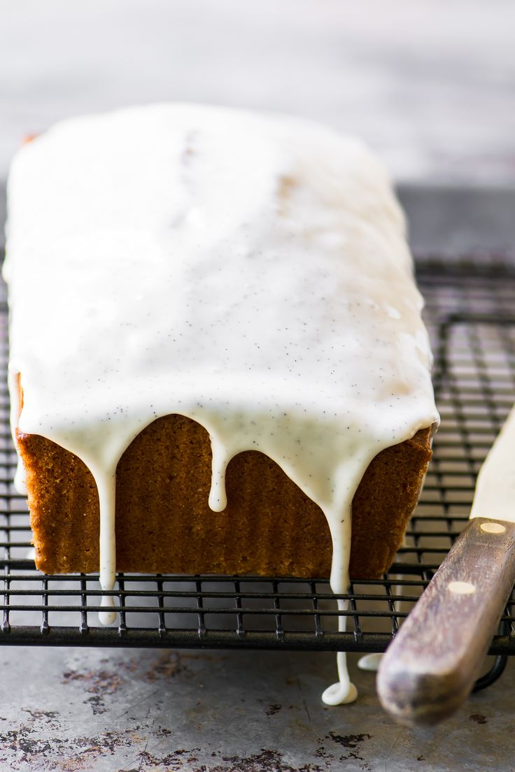 Triple Vanilla Pound Cake ~ not one, not two, but three layers of intense vanilla flavor in this easy cake to excite even the most serious vanilla fans.
