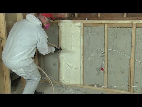 Shannon really does an awesome job at explaining how to DIY spray foam insulation! Many thanks! His home page, house-improvements.com, is a must see!