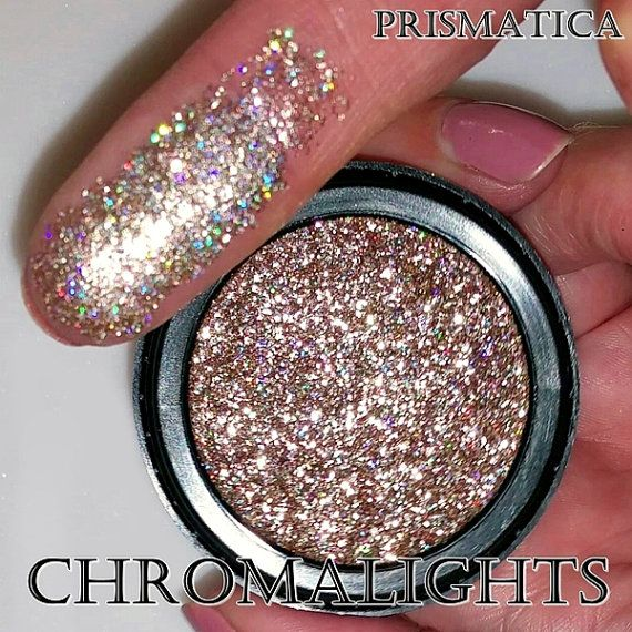 Pinterest: @ohitspeyton  Instagram: peymarie_  Chromalights Foil FX Pressed Glitter-Prismatica by MBACosmetics