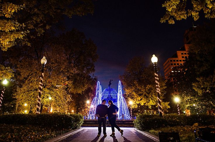 downtown memphis engagement photos | amydale photography | Memphis, TN | Memphis Wedding Photographer