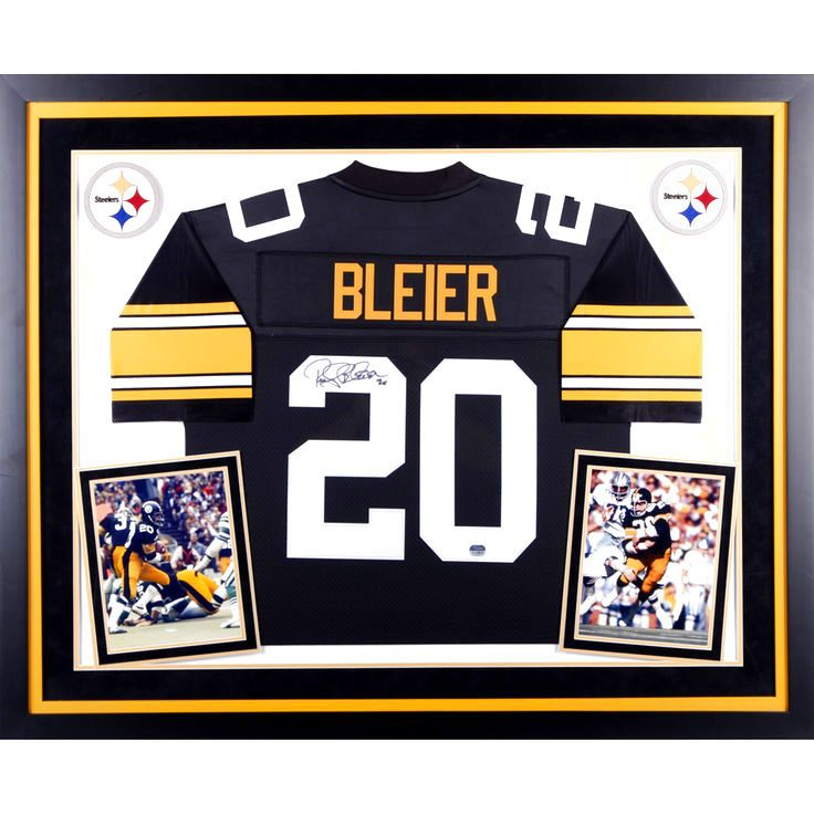 Rocky Bleier Pittsburgh Steelers Fanatics Authentic Deluxe Framed Autographed Black Pro Line Jersey - $599.99