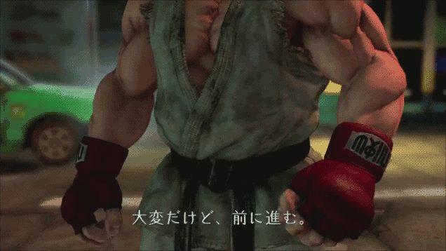 Ryu new look!!