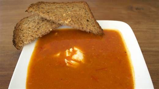 Recept - Pompoen-paprika-tomatensoep #NLFit