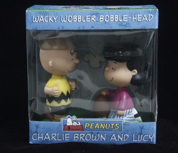 Charlie Brown and Lucy 2-Pack Football wacky wobbler Funko Bobblehead  | eBay