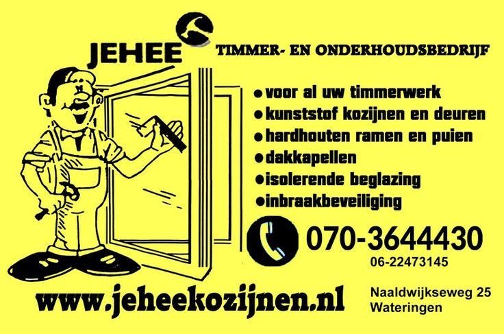 Timmerman Den Haag - Jehee Kozijnen Den Haag: Timmerbedrijf Jehee Kozijnen Den Haag | Den Haag