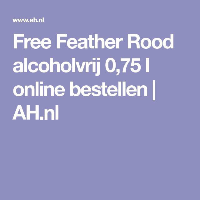 Free Feather Rood alcoholvrij 0,75 l online bestellen | AH.nl