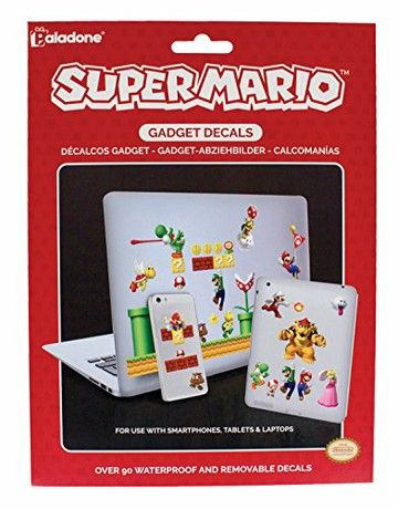 Super Mario Gadget Decals, Multi-Colour