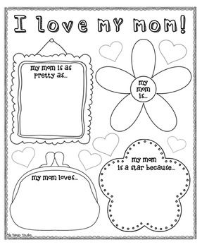 1000 images about mothers day worksheets on pinterest mothers day crafts my mom and mother 39 s day. Black Bedroom Furniture Sets. Home Design Ideas