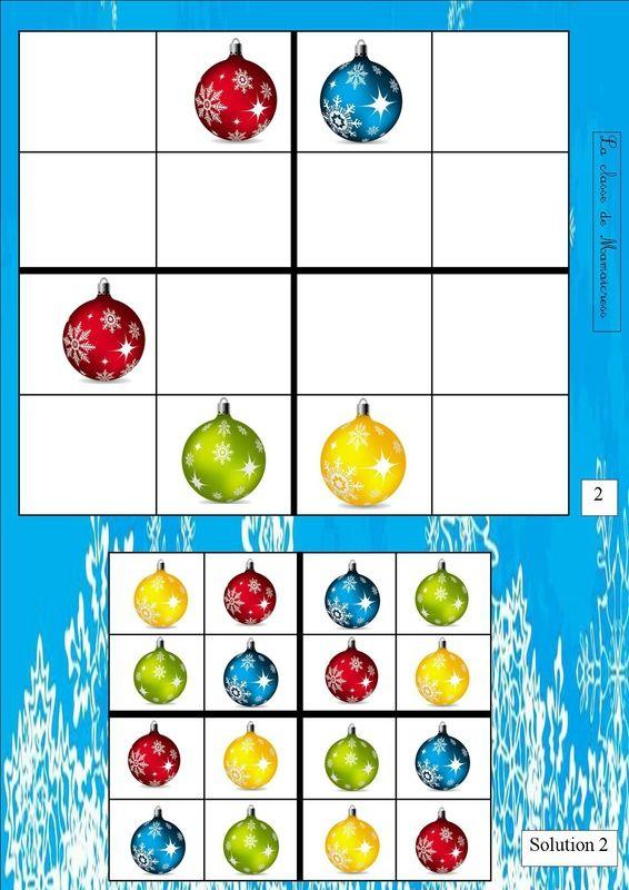 Extra uitdaging voor slimme kleuters sudoku's
