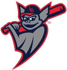 Louisville Bats Triple A baseball team. Affiliated with the Cincinnati Reds. Alternate logo.
