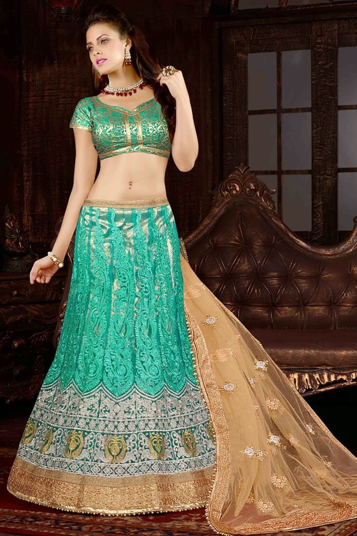 37 best Wedding Bridal Lehenga Choli. images on Pinterest | Bridal ...