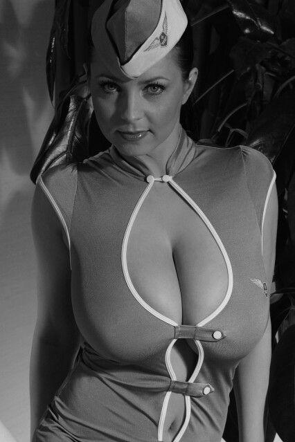 Ewa  Sonnet - stewardess - standing pose