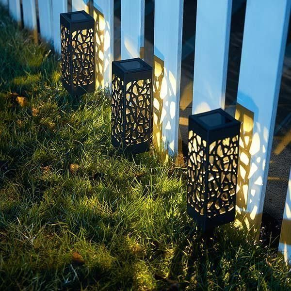 Moroccan Tower Solar Lanterns Solar Lights Garden Solar Lanterns Outdoor Lighting