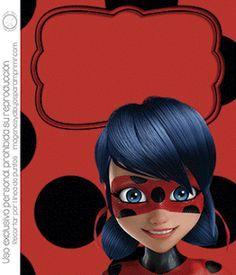 Prodigiosa para sus cumpleaños ¿ Invitaciones de ladybug Prodigiosa ? Si listas para imprimir. Disney ha estrenado una nueva heroina Prod...