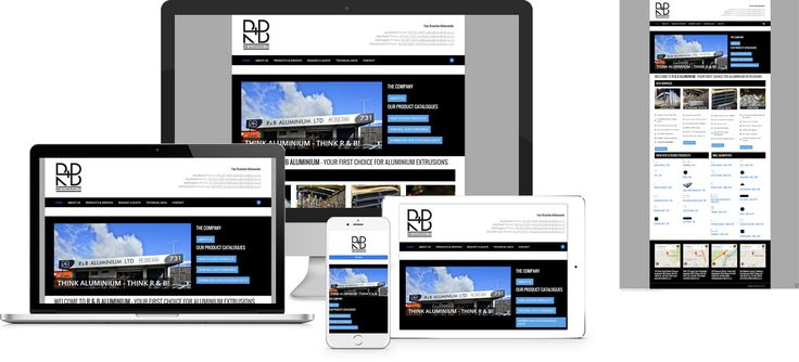 Forge Online creates yet another stunning example of contemporary and functionally powerful Open Source website design for R & B Aluminium.