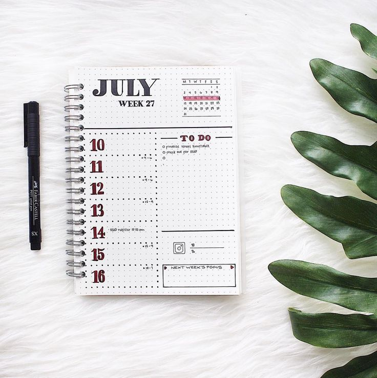 """31 Likes, 2 Comments - Kim (@irisk.letters) on Instagram: """"This week's spread. It's supposed to say Week 28 not 27"""""""