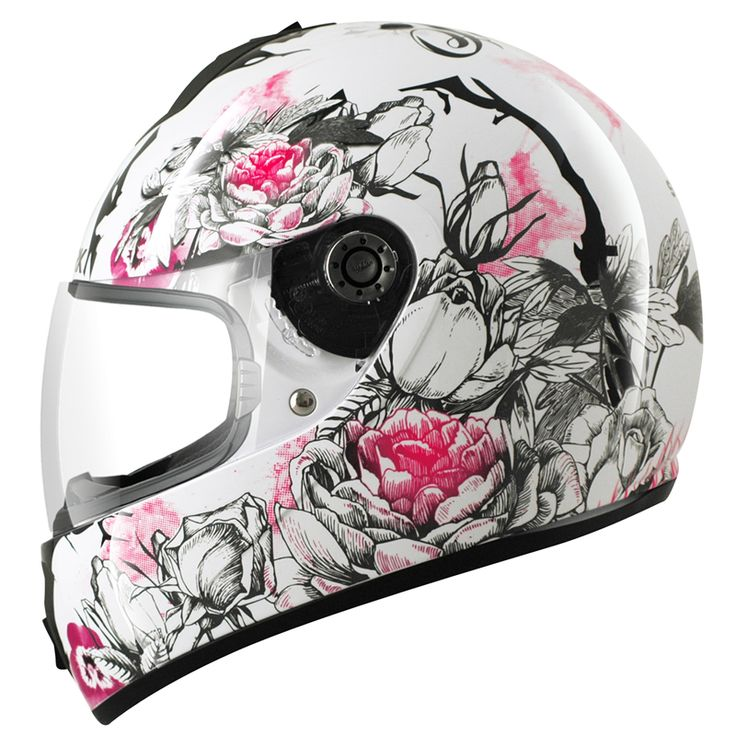 2013 shark s600 season ladies womens motorcycle full face for Best helmet for motor scooter