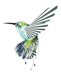 tribal hummingbird tattoo - Google Search