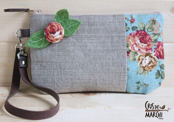 Maxi borsa originale robusta e capiente pochette di CrisDeMarchi