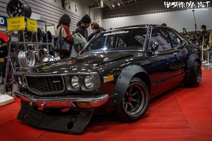 Classic Mazda RX-3 on Watanabes