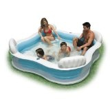 Transparent Blow Up Inflatable Pool w/Seats (Toy)  #summer