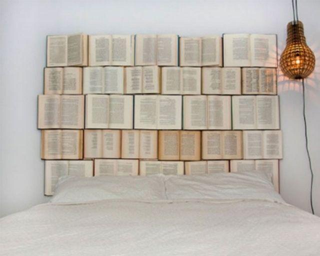 tete de lit livres