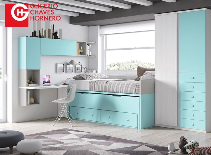 17 best formas 15 images on pinterest child room kids rooms and kid bedrooms - Habitaciones juveniles el corte ingles ...