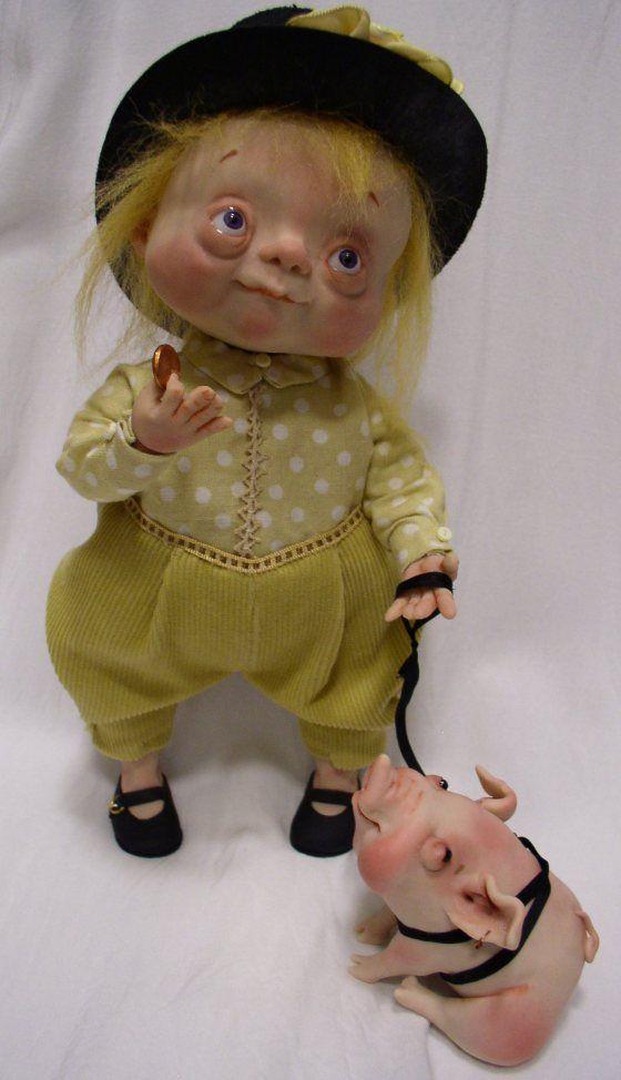 Denise Bledsoe Art Dolls
