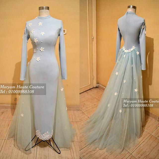 فستان بينسل اكستنشن بالوروود واللولى بيبى بلو متاح للإيجار او البيع لأي استفسار ابعتيلي واتساب رقم 01009988108 منشن لصحب Fashion Dresses Hijabi Gowns Dresses