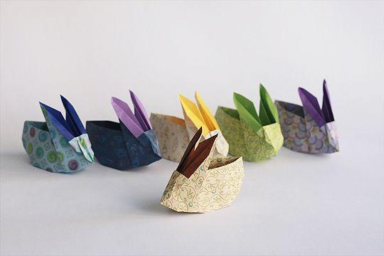 Coelhos de origami - Receita original de Jackie Chan