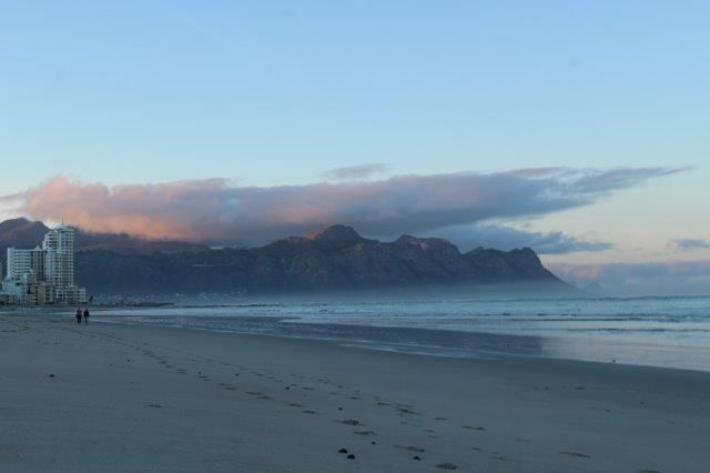 Early morning walk on Strand Beach, Western Cape