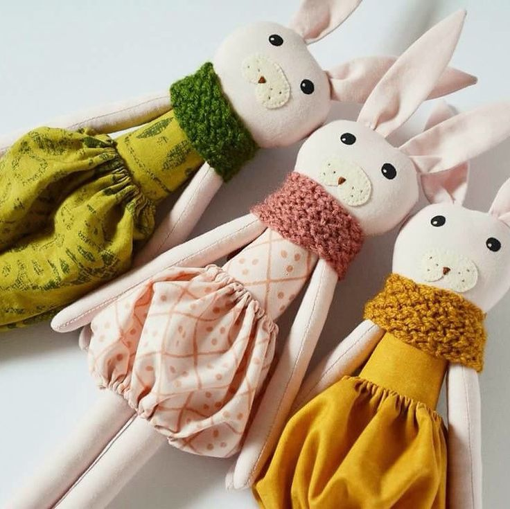 New dolls! Inspired by flowers! Perfect for Easter gifts!