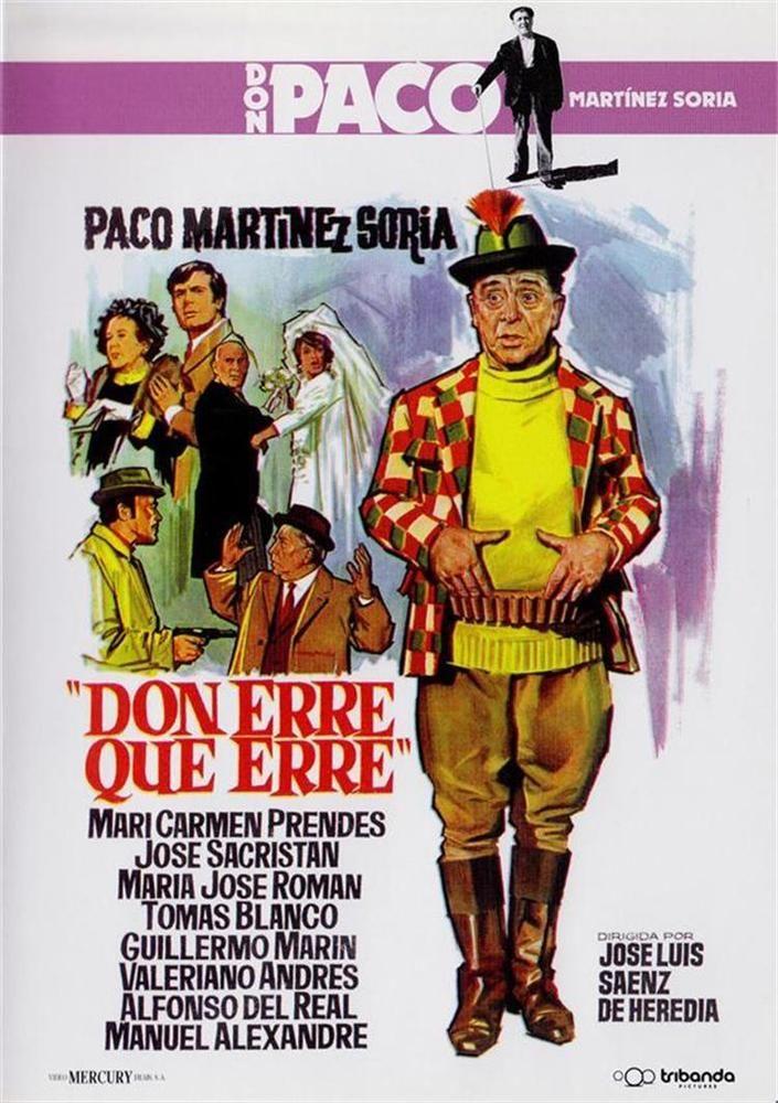Don Erre Que Erre Dvd Slim Don Paco Martinez Soria Con