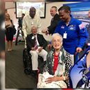 """New Facility At NASA Langley Research Center Named After """"Hidden Figures"""" Katherine Johnson HAMPTON, Va. (WVEC) — An American treasure is being honored in Hampton. A new facility at the NASA Langley Research Center is named after Katherine Johnson. She's the woman featured in the movie """"Hidden Figur..."""