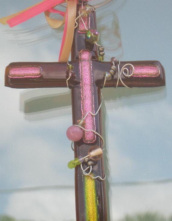 Pinterest easter gifts 11 crosses religious gift christian gift christian decor wall crosses unique crosses glass crosses fused glass cross negle Gallery