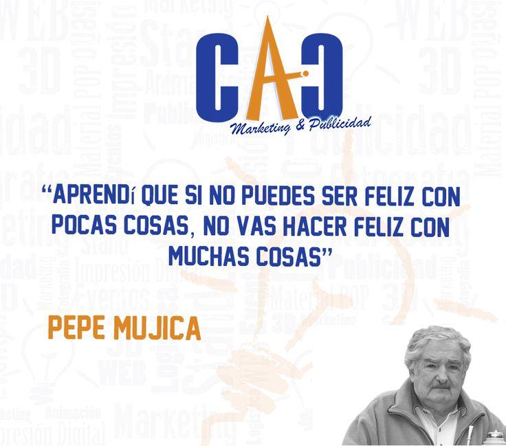 Una frase para meditar en éste viernes laboral. CAC Marketing & Publicidad #Viernes #Reflexión