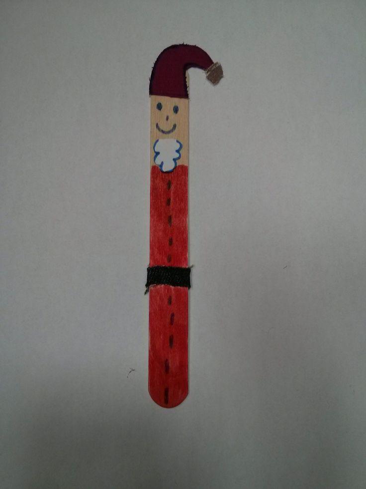 popsicle stick santa