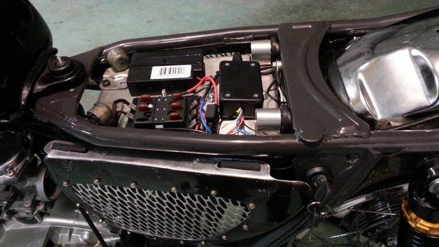 Homemade side covers XS650 Forum Motorcycles Cafe
