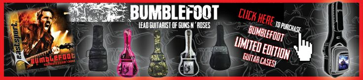 Ron 'Bumblefoot' Thal - lead guitarist of Guns N' Roses, solo artist, producer.