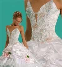 Салон платье белый лебедь