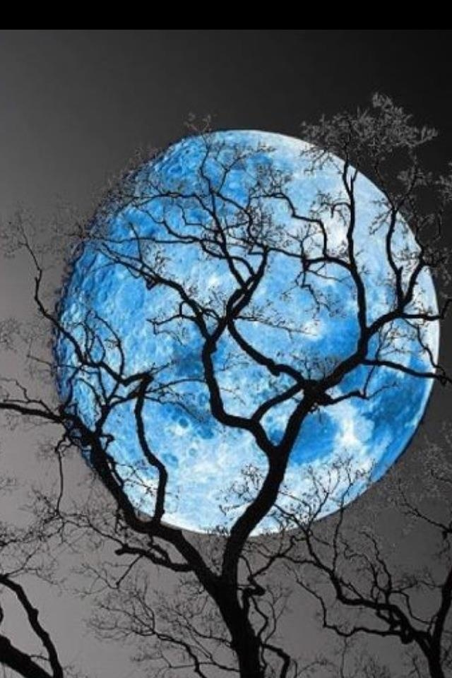 Blue Moon over Kentucky
