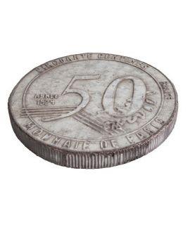 Podkładka Zinc 50 Centimes
