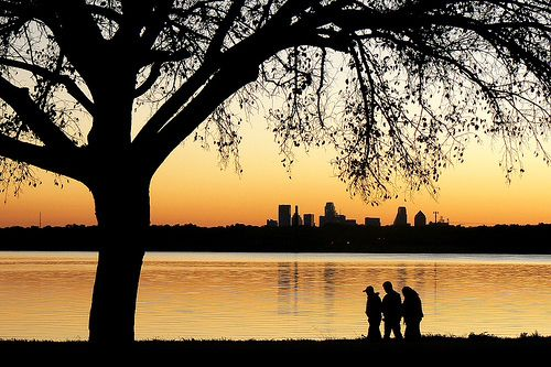 You know that sunsets at White Rock Lake make for a perfect summer evening. | 30 Ways You Know You Live In Dallas
