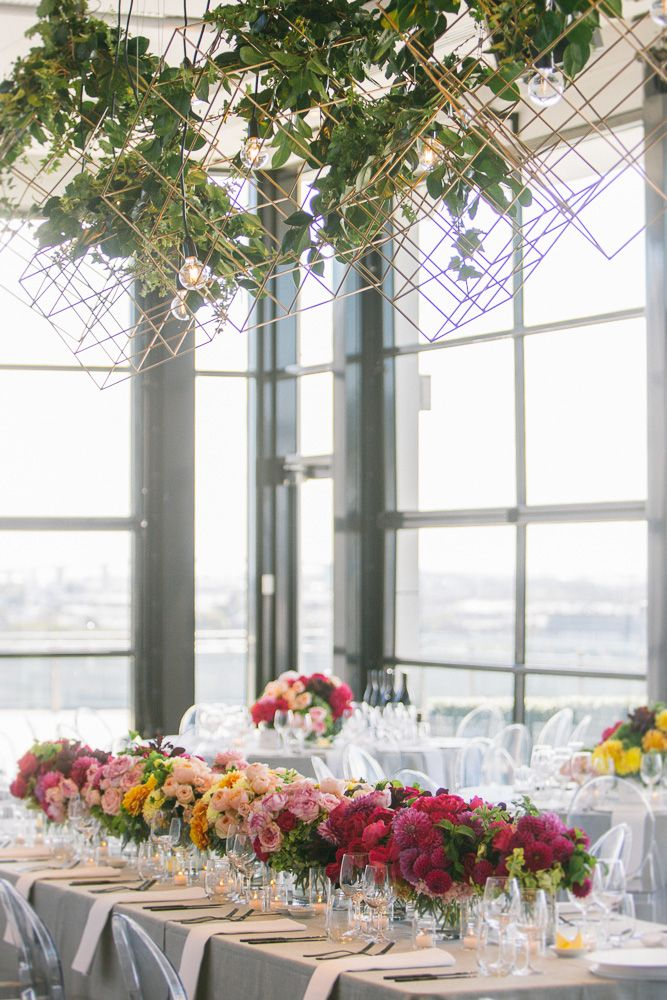 Flick + Josh - Luminare - Melbourne Rooftop wedding - The Style Co.