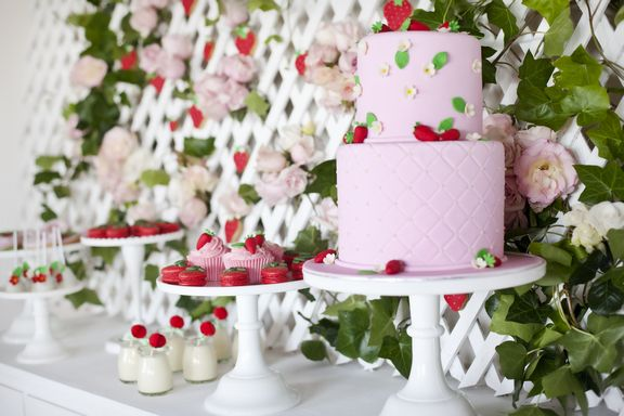 Strawberry Tea Party by Little Big Company
