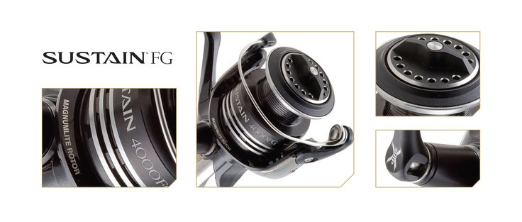 SUSTAIN FG: Spinning reel with all the features you need.